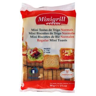 Mini biscottes au blé - Minigrill - sachet 90g