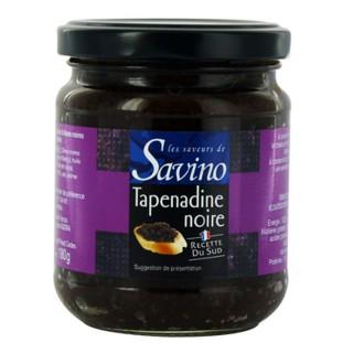 Tapenadine olivade noire - Les Saveurs de Savino - pot 180g