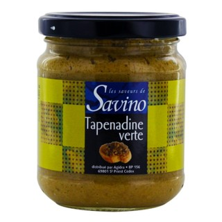 Tapenadine olivade verte - Les Saveurs de Savino - pot 180g