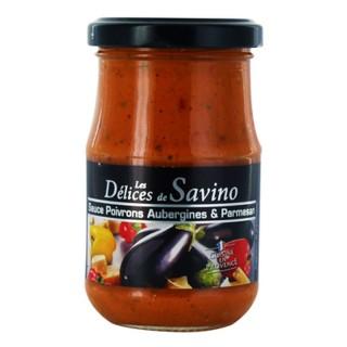 Sauce légumes & parmesan - Les Saveurs de Savino - pot 190g