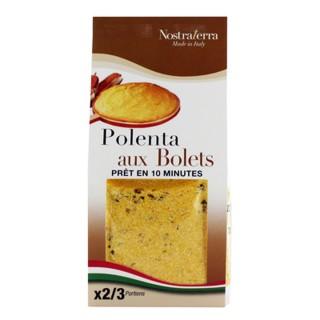 Polenta aux bolets -  Nostraterra - paquet 250g