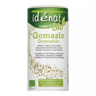 Gomasio BIO sésame complet & sel marin - Idénat - boîte 250g