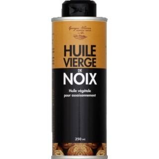 Huile vierge de noix  - Georges Nivier - Auvergne - bouteille 250ml