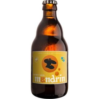 Bière artisanale Mandrin au Miel - 33cl 4,8% alc./Vol- Brasserie du Dauphiné