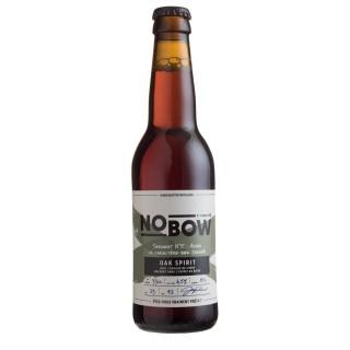 Bière artisanale Nobow Oak Spirit by Mandrin - 33cl 6,5% alc./Vol- Brasserie du Dauphiné
