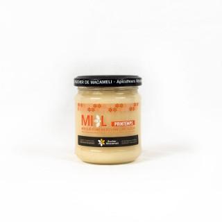 Miel de Printemps - Monts du Lyonnais - Rhône Alpes - Le Rucher de Macameli - pot 250g