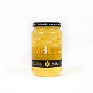 Miel d'Acacia - Monts du Lyonnais - Rhône Alpes - Le Rucher de Macameli - pot 500g