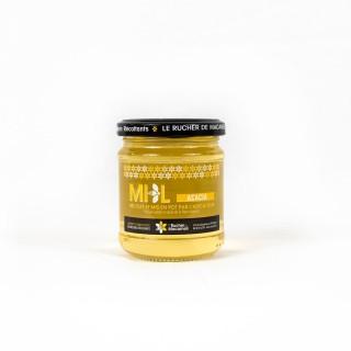 Miel d'Acacia - Monts du Lyonnais - Rhône Alpes - Le Rucher de Macameli - pot 250g