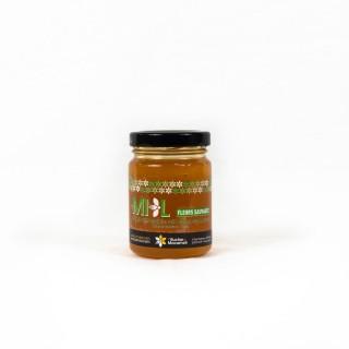 Miel de Fleurs Sauvages - Monts du Lyonnais - Rhône Alpes - Le Rucher de Macameli - pot 125g