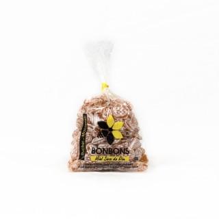 Bonbons au miel et sève de pin - Monts du Lyonnais - Rhône Alpes - Le Rucher de Macameli - sachet 125g