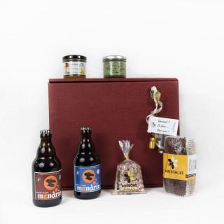 Coffret Cadeau un Terroir Gourmand - Idée cadeau - Boîte cadeau écologique - 6 produits