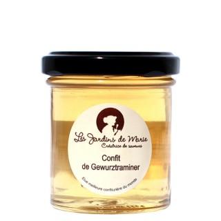 Confit de Gewurztraminer - Les Jardins de Marie - Meilleure confiturière de Monde - pot 100g