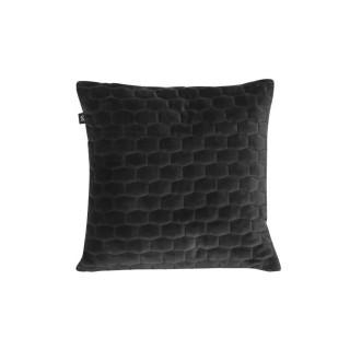 Coussin design velours Luxurious - Noir