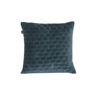 Coussin design velours Luxurious - Bleu émeraude