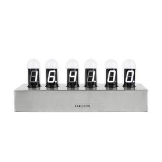 Horloge à poser vintage base métal Cathode - Argent