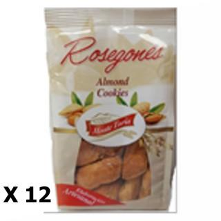 Lot 12x Rosegones aux amandes - Monte Turia - paquet 140g