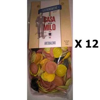 Lot 12x Pâte Arcobelano 138  - Italie - Casa Milo -  paquet 500g
