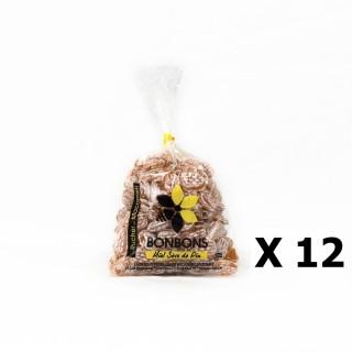 Lot 12x Bonbons au miel et sève de pin - Monts du Lyonnais - Rhône Alpes - Le Rucher de Macameli - sachet 125g