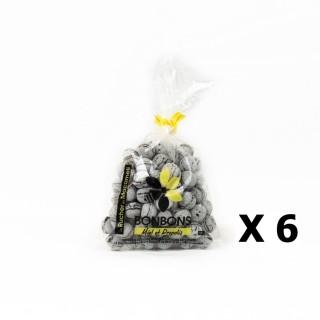 Lot 6x Bonbons au miel et propolis - Monts du Lyonnais - Rhône Alpes - Le Rucher de Macameli - sachet  125g