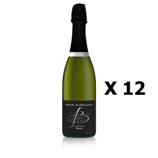Lot 12x B de Blancs - Vignobles Berthier - Pétillant 75cl - LOIRE - Méthode traditionnelle - Agriculture Traditionnelle