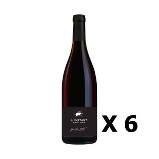 Lot 6x L'Instant Pinot Noir - Vignobles Berthier - Rouge 75cl - LOIRE - Vin de France -  Agriculture raisonnée