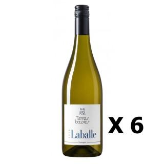 Lot 6x Les Terres Basses - Domaine de Laballe - Blanc 75cl - SUD OUEST - Côtes de Gascogne -  Agriculture raisonnée