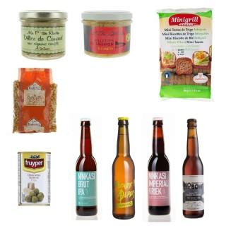 Tout pour le match - assortiment pour apéritif - 9 produits