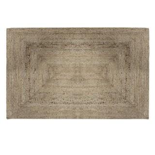 Tapis en jute naturel Poésie - L. 170 x l. 120 cm - Couleur lin