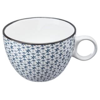 Tasse design Japon - 380 ml - Bleu