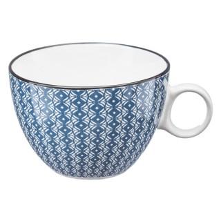 Tasse design Japon - 380 ml - Bleu foncé