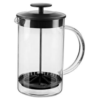 Cafetière théière à filtre en verre Ambition - 600 ml - Noir