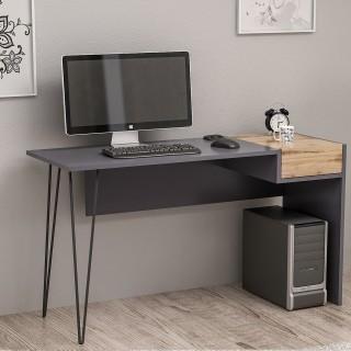 Bureau design Candy - L. 121 x H. 76 cm - Noir