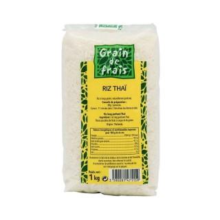 Riz parfumé Thaï - Grain de Frais - paquet 1kg