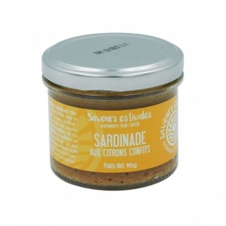 Sardinade aux citrons confits - Saveurs estivales - pot 90g