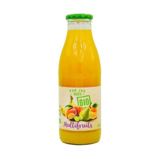 Pur jus multifruits BIO - bouteille 75cl