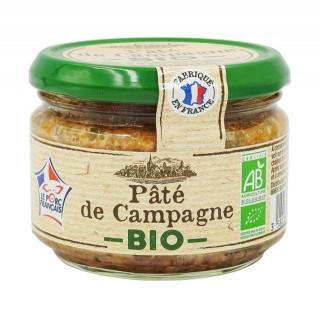 Pâté de campagne BIO - France - pot 180g