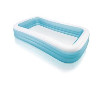 Piscine gonflable rectangulaire Family - L. 305 x H. 56 cm - Bleu