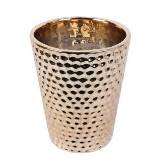 Bougie parfumée en pot Chic Candle - Marron cuivré