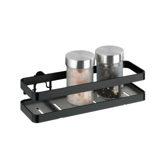 Etagère porte épices design industriel Gala - Noir