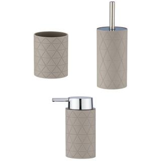 Set d'accessoires de salle de bain Casella - Taupe