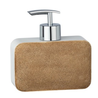 Distributeur de savon design Ambila - Beige