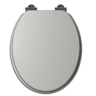Abattant WC design SILVER - Gris
