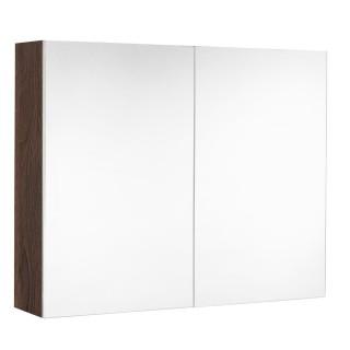 Armoire de toilette LOOK - L. 80 x H. 65 cm - Noir