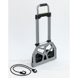Chariot de transport pliant Secura - 70 kg max - Gris
