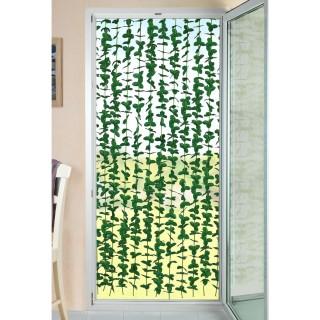 Rideau de porte en plante verte Liane - L. 90 x H. 190 cm - Vert