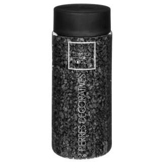 Pierre décorative - 750 g - Noir