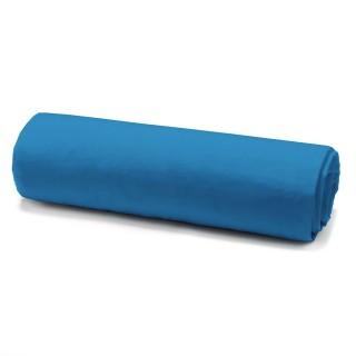 Drap housse Mer du Sud - 100% coton 57 fils - 160 x 200 cm - Bleu
