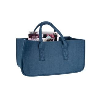 Range magazine design feutrine Mellow - Bleu foncé