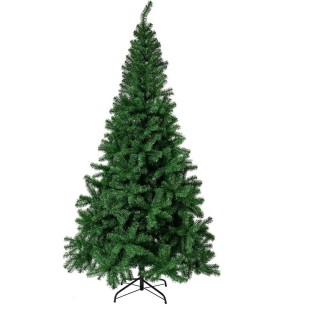 Sapin de Noël branches épaisses Laponie - H. 400 cm - Vert