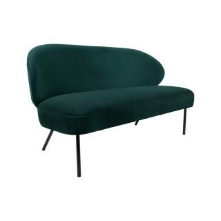 Canapé design Puffed - 2 Places - Vert émeraude